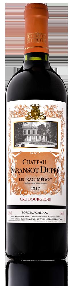 Château Saransot-Dupré rouge - Listrac-Médoc