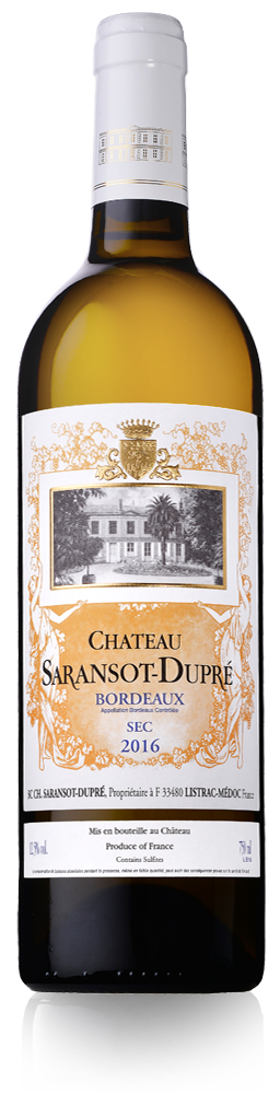 Château Saransot-Dupré blanc - Listrac-Médoc